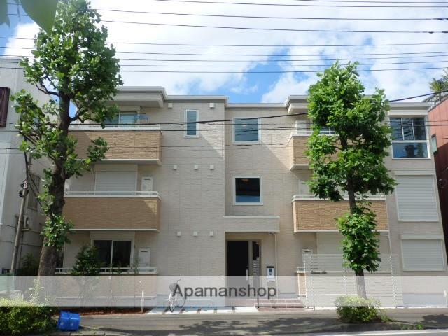 神奈川県川崎市中原区、武蔵小杉駅徒歩10分の新築 3階建の賃貸アパート