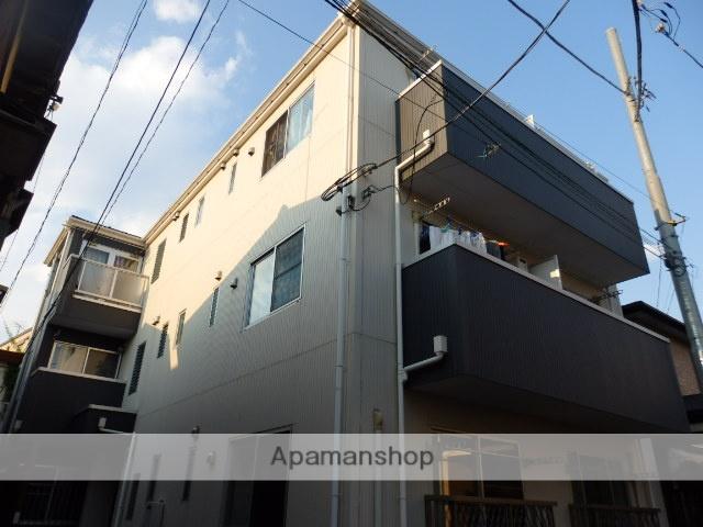 神奈川県川崎市中原区、武蔵小杉駅徒歩12分の築8年 3階建の賃貸アパート