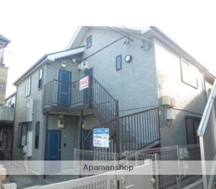 神奈川県横浜市港北区、日吉駅徒歩18分の築14年 2階建の賃貸アパート