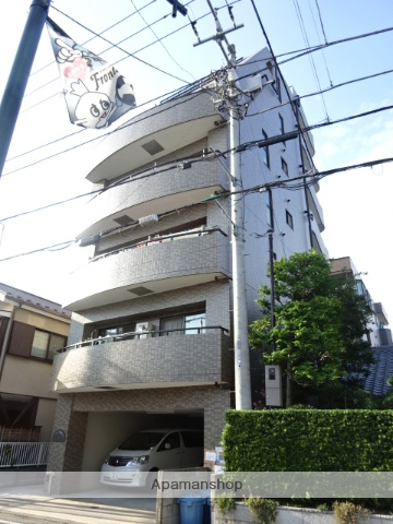 神奈川県川崎市中原区、武蔵小杉駅徒歩15分の築18年 6階建の賃貸マンション