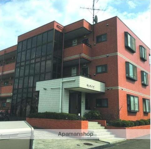 神奈川県川崎市中原区、元住吉駅徒歩17分の築23年 3階建の賃貸マンション