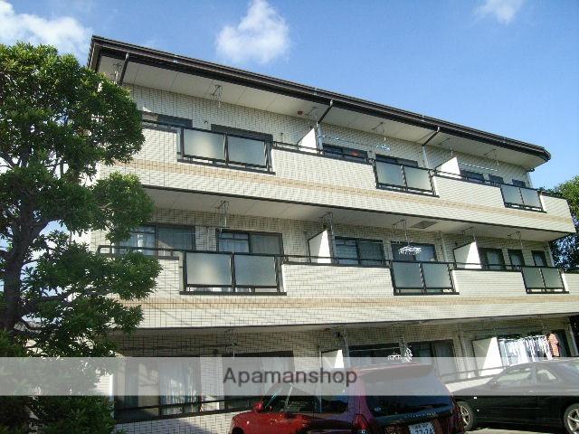 神奈川県川崎市中原区、武蔵小杉駅徒歩20分の築26年 3階建の賃貸マンション