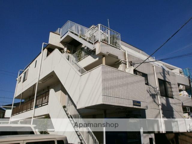 神奈川県川崎市中原区、武蔵中原駅徒歩12分の築28年 3階建の賃貸マンション