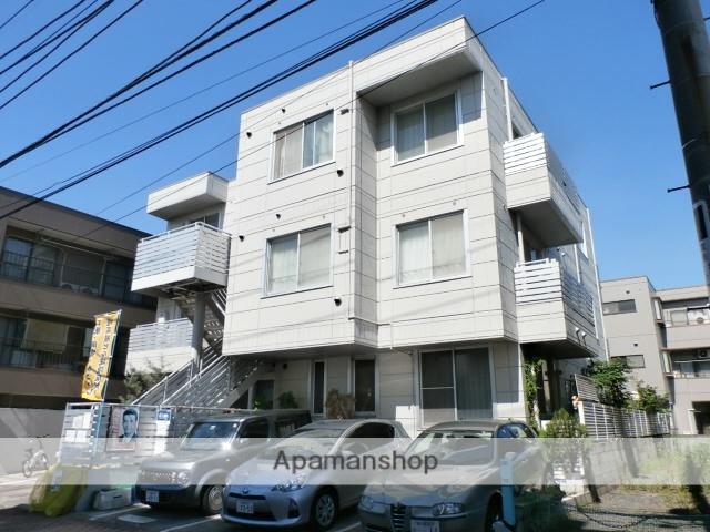 神奈川県川崎市中原区、武蔵小杉駅徒歩8分の築23年 3階建の賃貸マンション