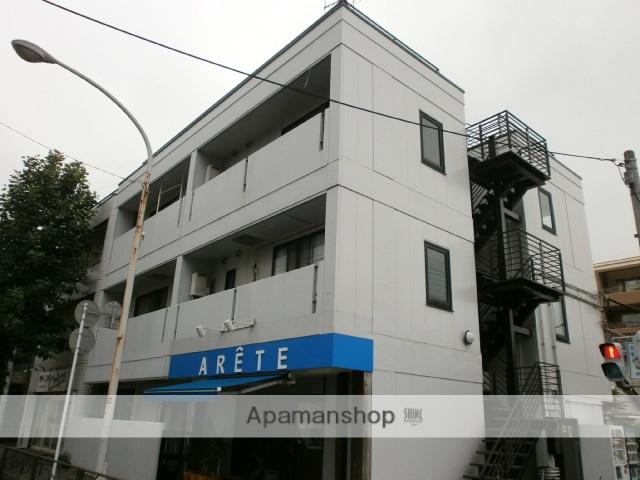 神奈川県川崎市中原区、武蔵小杉駅徒歩19分の築30年 3階建の賃貸マンション