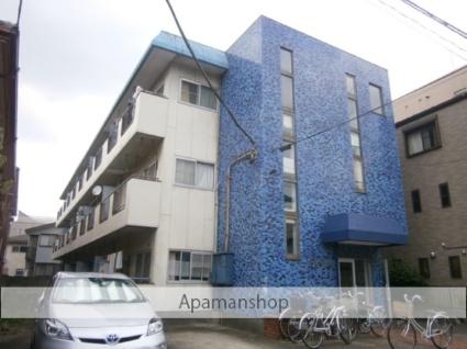 神奈川県川崎市中原区、武蔵小杉駅徒歩11分の築37年 3階建の賃貸マンション