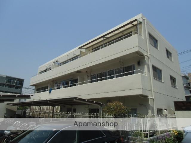 神奈川県川崎市中原区、武蔵小杉駅徒歩22分の築35年 3階建の賃貸マンション