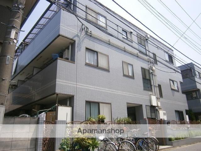 神奈川県川崎市中原区、武蔵中原駅徒歩18分の築22年 3階建の賃貸マンション