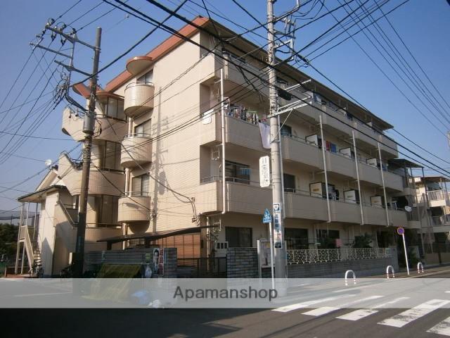神奈川県川崎市中原区、武蔵小杉駅徒歩23分の築29年 4階建の賃貸マンション