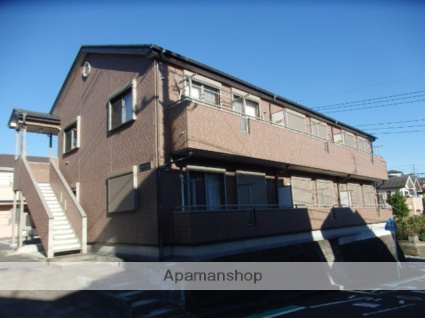 神奈川県横浜市栄区、港南台駅徒歩15分の築8年 2階建の賃貸アパート