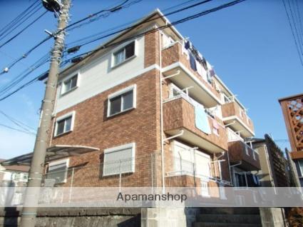 神奈川県横浜市栄区、港南台駅徒歩16分の築11年 3階建の賃貸アパート