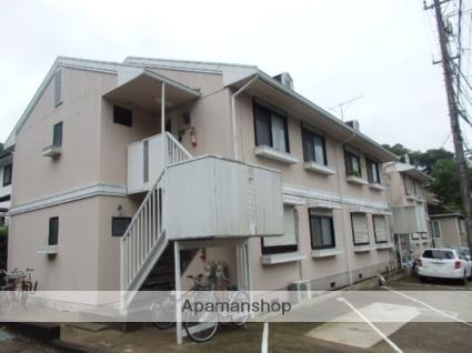 神奈川県逗子市、逗子駅徒歩14分の築28年 2階建の賃貸アパート