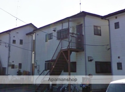 神奈川県横浜市栄区、港南台駅徒歩17分の築24年 2階建の賃貸アパート