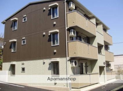 神奈川県横浜市栄区、本郷台駅徒歩19分の築5年 3階建の賃貸アパート