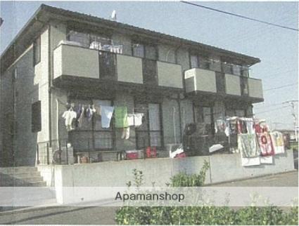 神奈川県高座郡寒川町、寒川駅徒歩23分の築17年 2階建の賃貸アパート