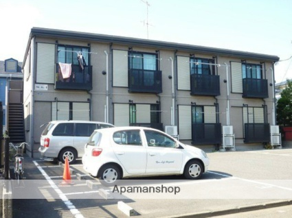 神奈川県平塚市、平塚駅バス8分中原御殿下車後徒歩2分の築15年 2階建の賃貸アパート
