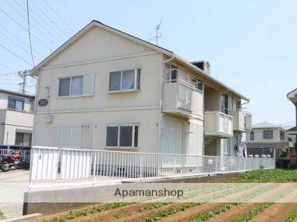 神奈川県高座郡寒川町、北茅ケ崎駅徒歩30分の築25年 2階建の賃貸アパート