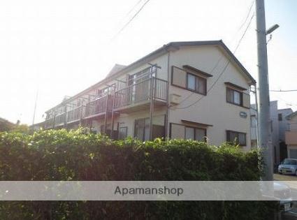 神奈川県平塚市、平塚駅バス23分長持下車後徒歩2分の築25年 2階建の賃貸テラスハウス