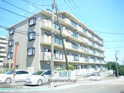 神奈川県横浜市港南区、港南台駅徒歩21分の築22年 5階建の賃貸マンション