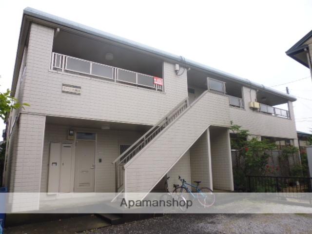 神奈川県藤沢市、藤沢駅徒歩18分の築23年 2階建の賃貸アパート
