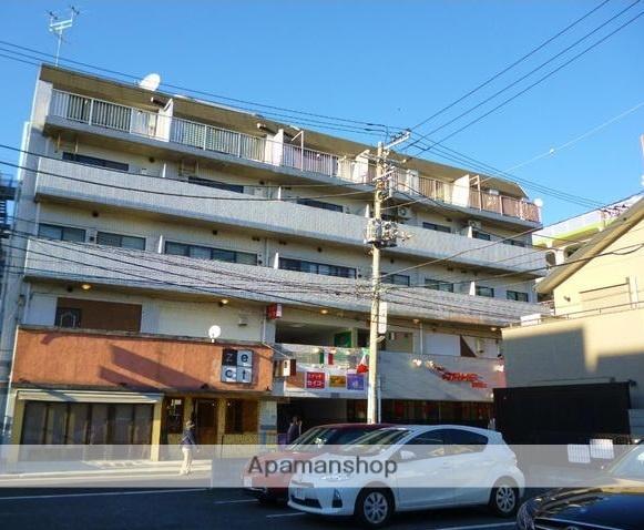 神奈川県横浜市港南区、上大岡駅徒歩4分の築27年 5階建の賃貸マンション
