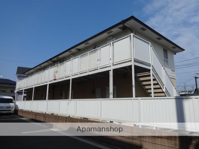 神奈川県横浜市栄区、大船駅徒歩19分の築22年 2階建の賃貸アパート