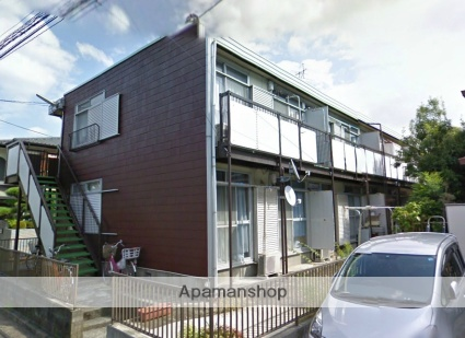 神奈川県横浜市栄区、大船駅徒歩11分の築36年 2階建の賃貸アパート