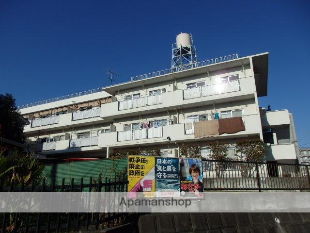 神奈川県横浜市戸塚区、戸塚駅徒歩13分の築40年 3階建の賃貸マンション
