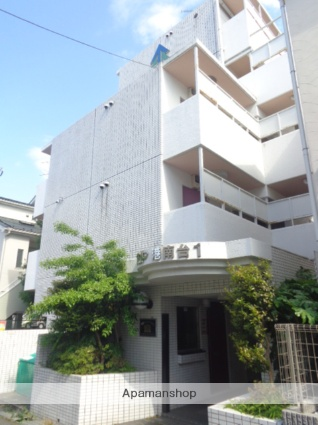 神奈川県横浜市港南区、港南台駅徒歩13分の築28年 5階建の賃貸マンション