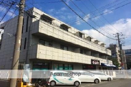 神奈川県横浜市磯子区、新杉田駅徒歩4分の築17年 3階建の賃貸マンション
