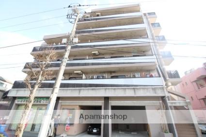 神奈川県川崎市中原区、武蔵中原駅徒歩12分の築24年 6階建の賃貸マンション