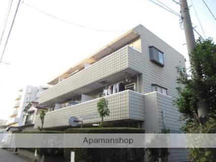 神奈川県川崎市中原区、武蔵中原駅徒歩11分の築28年 3階建の賃貸マンション