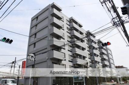 神奈川県川崎市中原区、武蔵中原駅徒歩12分の築28年 7階建の賃貸マンション