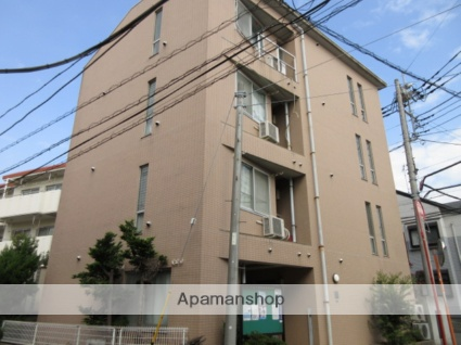 神奈川県川崎市中原区、武蔵中原駅徒歩10分の築24年 4階建の賃貸マンション