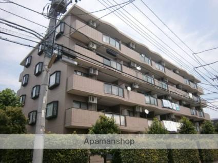 神奈川県川崎市中原区、武蔵中原駅徒歩8分の築20年 5階建の賃貸マンション