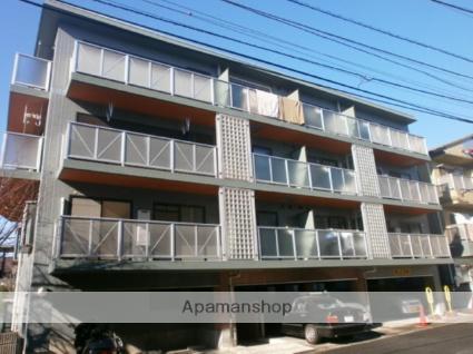 神奈川県川崎市中原区、武蔵中原駅徒歩19分の築23年 4階建の賃貸マンション