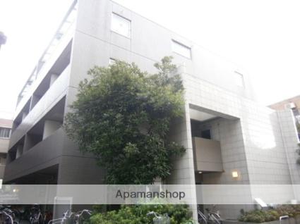 神奈川県川崎市中原区、武蔵小杉駅徒歩16分の築25年 4階建の賃貸マンション