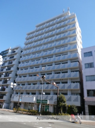 神奈川県川崎市中原区、向河原駅徒歩15分の築27年 12階建の賃貸マンション