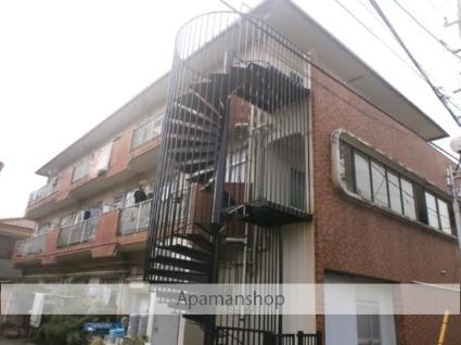 神奈川県川崎市中原区、武蔵中原駅徒歩13分の築35年 3階建の賃貸マンション