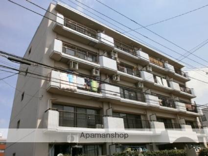神奈川県川崎市中原区、武蔵中原駅徒歩10分の築27年 5階建の賃貸マンション