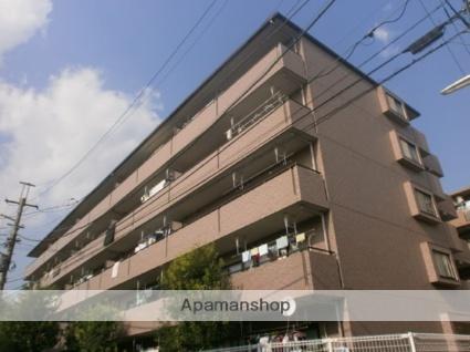 神奈川県川崎市中原区、武蔵中原駅徒歩14分の築18年 5階建の賃貸マンション