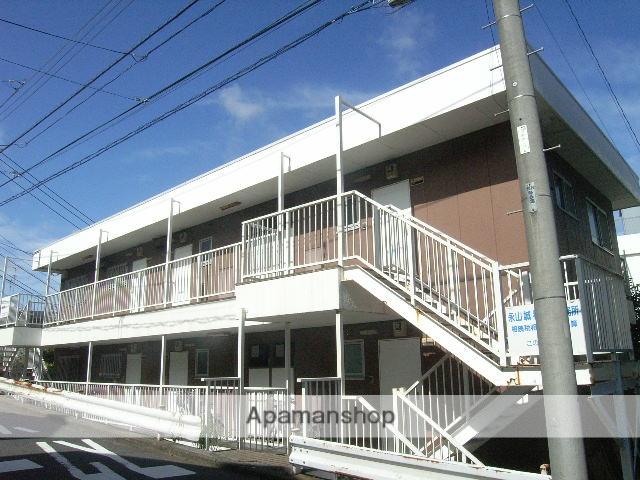 神奈川県藤沢市、藤沢駅徒歩14分の築35年 3階建の賃貸マンション