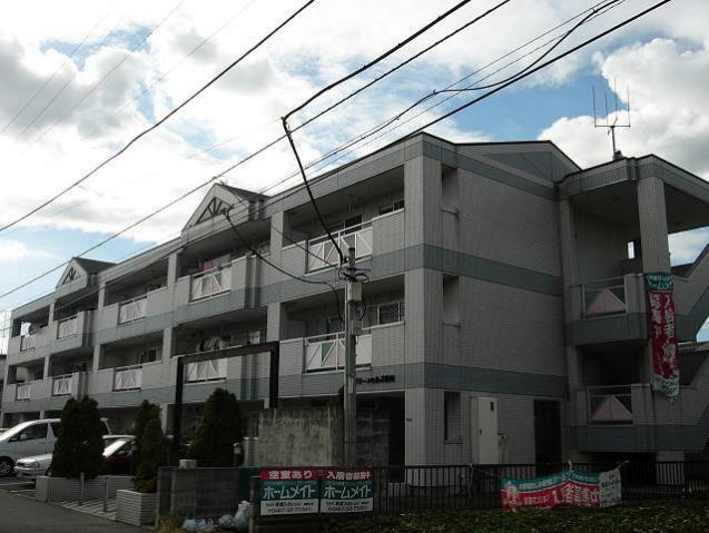 神奈川県茅ヶ崎市、北茅ケ崎駅徒歩31分の築23年 3階建の賃貸マンション