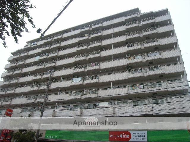 神奈川県藤沢市、藤沢駅徒歩26分の築25年 10階建の賃貸マンション