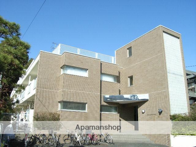 神奈川県藤沢市、藤沢駅徒歩17分の築25年 3階建の賃貸マンション