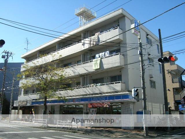 神奈川県藤沢市、藤沢駅徒歩10分の築34年 4階建の賃貸マンション