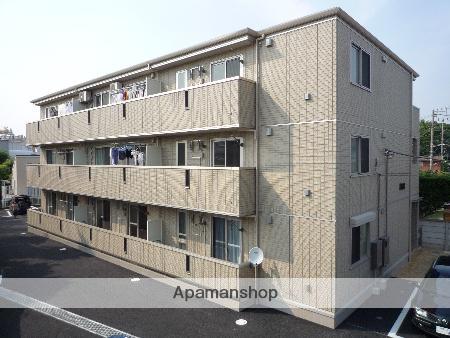 神奈川県藤沢市、藤沢駅徒歩23分の築9年 3階建の賃貸アパート