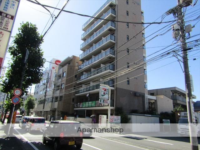 神奈川県藤沢市、藤沢駅徒歩6分の築15年 9階建の賃貸マンション