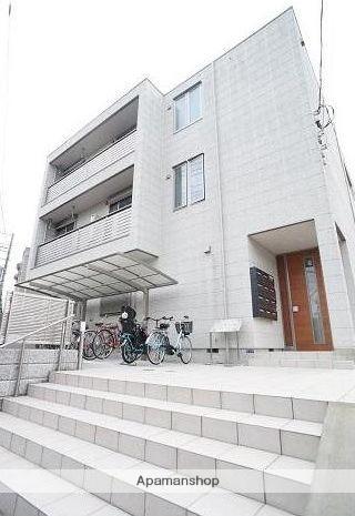 神奈川県藤沢市、藤沢駅徒歩13分の築4年 3階建の賃貸マンション