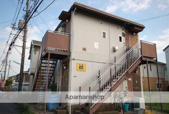 神奈川県藤沢市、藤沢本町駅徒歩15分の築33年 2階建の賃貸アパート